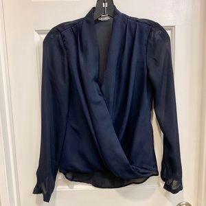 Blue H&M blouse 2